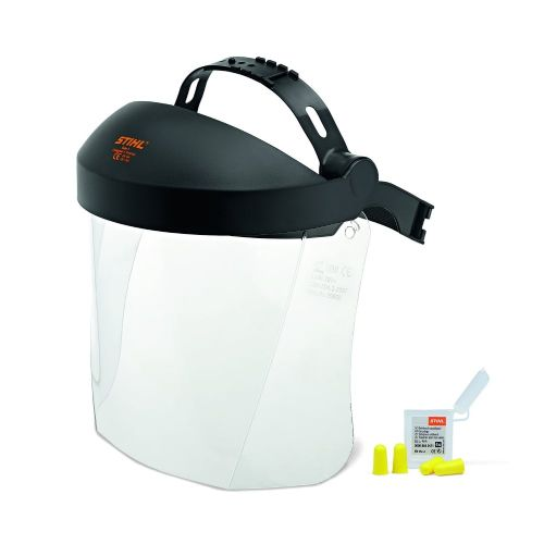 Stihl  Face/Ear protection ,Short, with plastic Visor 0000 884 0510